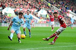 Jamie Paterson of Bristol City takes a shot at goal - Mandatory by-line: Dougie Allward/JMP - 10/02/2018 - FOOTBALL - Ashton Gate Stadium - Bristol, England - Bristol City v Sunderland - Sky Bet Championship
