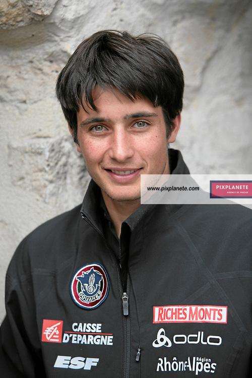 Jason Lamy Chappuis - Combiné nordique - présentation de l'équipe de France de ski 2007-2008 - Photos exclusives - 9/10/2007 - JSB / PixPlanete