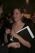 Mima Lopes, Reception and auction of Wildlife and Sporting Art in aid of the game Conservancy Trust. Christie's. King St. London W1. 12 December 2006. ONE TIME USE ONLY - DO NOT ARCHIVE  © Copyright Photograph by Dafydd Jones 248 CLAPHAM PARK RD. LONDON SW90PZ.  Tel 020 7733 0108 www.dafjones.com