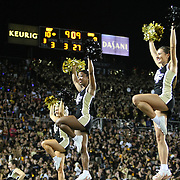 ORLANDO, FL - OCTOBER 09:  Cheerleaders perform at Bright House Networks Stadium on October 9, 2014 in Orlando, Florida. (Photo by Alex Menendez/Getty Images) *** Local Caption ***