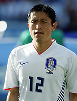 Fotball / Football<br /> Privatlandskamp / Friendly match<br /> Norge v Sør-Korea 0-0<br /> Norway v Korea Republic 0-0<br /> 01.06.2006<br /> Foto: Morten Olsen, Digitalsport<br /> <br /> Young-Pyo Lee