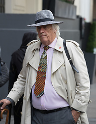 © Licensed to London News Pictures. 14/09/2017. London, UK. Michael Mansfield QC is seen outside The Connaught Rooms on the first day of the public inquiry into the Grenfell fire. Police say they believe 80 people died in the tragedy. Photo credit: Peter Macdiarmid/LNP