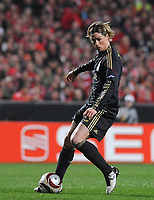 20100401: LISBON, PORTUGAL - SL Benfica vs Liverpool: Europa League 2009/2010 - Quarter-Finals - 1st leg. In picture: Fernando Torres (Liverpool). PHOTO: Alvaro Isidoro/CITYFILES
