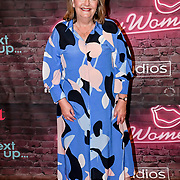 Lynne Parker founder of the Red Carpet Funny Women Awards at the Bloomsbury Theatre, London on 23rd September 2021.