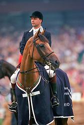 Van Geenberghe Jean Claude, BEL, Freestyle<br /> CHIO Aachen 1995<br /> © Hippo Foto - Dirk Caremans<br /> 03/06/2020