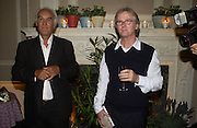 Franc Roddam and Frost French host a party to celebrate the publication of ' Margarita's Olive Press' by Rodney Shileds. 1 Greek St. Soho Sq. London. 15 September 2005.  ONE TIME USE ONLY - DO NOT ARCHIVE  © Copyright Photograph by Dafydd Jones 66 Stockwell Park Rd. London SW9 0DA Tel 020 7733 0108 www.dafjones.com