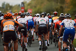 The peloton all together at the 2020 Brabantse Pijl - Elite Women, a 121 km road race from Lennik to Overijse, Belgium on October 7, 2020. Photo by Sean Robinson/velofocus.com