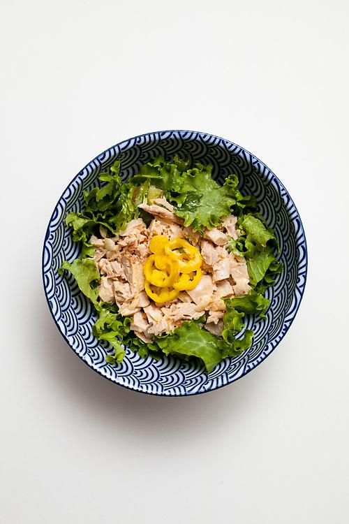 Siracha Chicken salad from the fridge (m€)