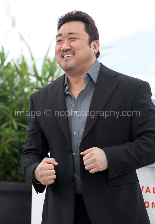 Actor Lee Don at The Gangster, The Cop, The Devil film photo call at the 72nd Cannes Film Festival, Thursday 23rd May 2019, Cannes, France. Photo credit: Doreen Kennedy