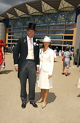 The HON.HARRY & MRS HERBERT at the first day of the Royal Ascot racing festival 2006 at Ascot Racecourse, Berkshire on 20th June 2006.<br /><br />NON EXCLUSIVE - WORLD RIGHTS