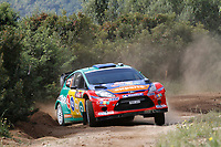 MOTORSPORT - WRC 2011 - RALLYE ITALIA SARDEGNA - OLBIA (ITA) - 05/05 TO 08/05/2011 - PHOTO : BASTIEN BAUDIN / DPPI 15 HENNING SOLBERG (NOR) / ILKA MINOR (AUT) - FORD FIESTA RS WRC - M-SPORT STOBART FORD WORLD RALLY TEAM - ACTION