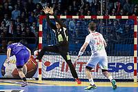 Håndball , 14. janaur 2016 ,  : Russia vs Norway - World Championship - Nantes - 01/14/2017<br /> Igor Soroka (Russie) vs Ole Erevik (Norvege)<br /> Russland - Norge<br /> <br /> Norway only