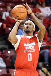 23 October 2015: Nick Banyard(0). Illinois State Hoopfest is an annual pre-season event to introduce the team to the fans.