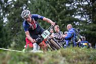 Kevin Vermaerke (USA) at the 2018 UCI MTB World Championships - Lenzerheide, Switzerland