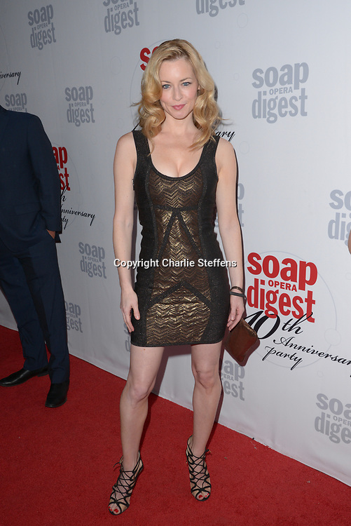JESSICA MORRIS at Soap Opera Digest's 40th Anniversary party at The Argyle Hollywood in Los Angeles, California