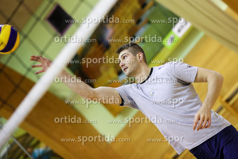 Danijel Koncilja during training camp of Slovenian Volleyball Men Team before Qualification tournament for FIVB Volleyball World Championship, on May 11, 2017 in Arena Vitranc, Kranjska Gora, Slovenia. Photo by Matic Klansek Velej / Sportida