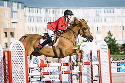 Verberckmoes Maartje, (BEL), Nibor<br /> Pony European Championships Malmö 2015<br /> © Hippo Foto - Lotta Gyllensten