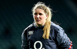 Poppy Cleall of England - Mandatory by-line: Robbie Stephenson/JMP - 04/02/2017 - RUGBY - Twickenham - London, England - England v France - Women's Six Nations
