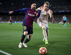 Barcelona v Manchester United 16 April 2019