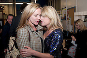 LADY LIZA CAMPBELL; RACHEL JOHNSON, Rachel's Johnson's 'A Diary of the Lady'book launch at The Lady's offices. Covent Garden. London. 30 September 2010. -DO NOT ARCHIVE-© Copyright Photograph by Dafydd Jones. 248 Clapham Rd. London SW9 0PZ. Tel 0207 820 0771. www.dafjones.com.