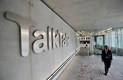 File photo dated 23/10/15 of TalkTalk offices in west London. Two friends have been jailed for their roles in a £77 million hack on the company's website.