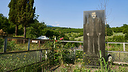 Pictures & images of the Georgian cemetry of  Ikalto monastery . Near Telavi, Kakheti, Eastern Georgia (Country).