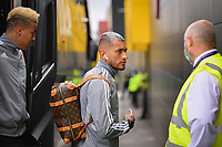 Football - 2019 / 2020 Premier League - Watford vs. Leicester City<br /> <br /> Watford's Roberto Pereyra asks directions as he arrives at Vicarage Road.<br /> <br /> COLORSPORT/ASHLEY WESTERN