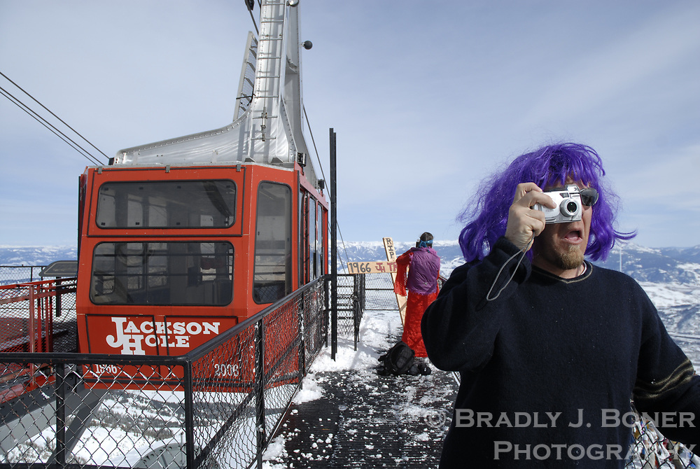 Closing Day at Jackson Hole Mountain Resort and retiring of original Aerial Tram