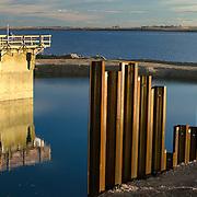Deer Flat National Wildlife Refuge, upper dam repair, Caldwell Canal outlet