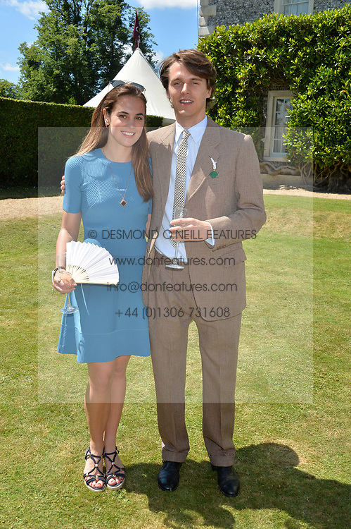 Tara Ferry and Caroline Brady at the Cartier Style et Luxe at the Goodwood Festival of Speed, Goodwood, West Sussex, England. 2 July 2017.<br /> Photo by Dominic O'Neill/SilverHub 0203 174 1069 sales@silverhubmedia.com