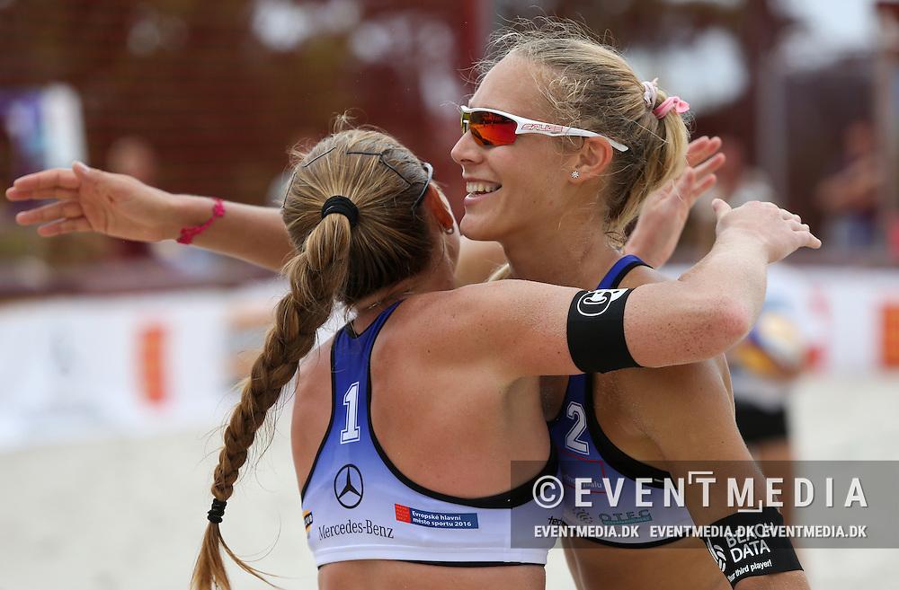 MEVZA Prague Open 2016 at Beachclub Strahov in Prague, Czech Republic, 30.6-2.7.2016. (Allan Jensen/EVENTMEDIA).