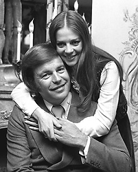 Actor Robert Wagner and his former wife, actress Natalie Wood. They were divorced 10 years ago.