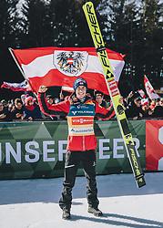 15.02.2020, Kulm, Bad Mitterndorf, AUT, FIS Ski Flug Weltcup, Kulm, Herren, Siegerehrung, im Bild 3. Platz Stefan Kraft (AUT) // 3rd placed Stefan Kraft of Austria during the winner ceremony for the men's FIS Ski Flying World Cup at the Kulm in Bad Mitterndorf, Austria on 2020/02/15. EXPA Pictures © 2020, PhotoCredit: EXPA/ JFK