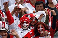 17/07/04 - CHICLAYO - PERU - COPA AMERICA PERU 2004 <br />Peru SUPPORTERS / FANS<br />© Gabriel Piko /Argenpress.com<br /><br />- Quarterfinals match of the Copa America 2004 - PERU (0) VS. ARGENTINA (1)<br />© Gabriel Piko /Argenpress.com