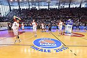 DESCRIZIONE : Campionato 2014/15 Serie A Beko Grissin Bon Reggio Emilia -  Dinamo Banco di Sardegna Sassar Finale Playoff Gara1<br /> GIOCATORE : Team Reggio Emilia<br /> CATEGORIA : Stretching Riscaldamento Before Pregame Palazzo Palazzetto Arena Panoramica<br /> SQUADRA : Grissin Bon Reggio Emilia<br /> EVENTO : LegaBasket Serie A Beko 2014/2015<br /> GARA : Grissin Bon Reggio Emilia - Dinamo Banco di Sardegna Sassari Finale Playoff Gara1<br /> DATA : 14/06/2015<br /> SPORT : Pallacanestro <br /> AUTORE : Agenzia Ciamillo-Castoria/GiulioCiamillo
