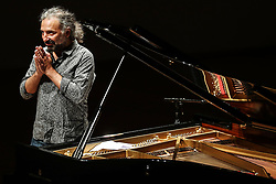 June 19, 2018 - Mexico City, Mexico - Italian pianist Stefano Bollani, in the auditorium Blas Galindo, of the National Center of Art (Cenart), south of the City of Mexico, the night of this Tuesday, June 19. (Credit Image: © Juan Carlos Reyes Garcia/El Universal via ZUMA Wire)