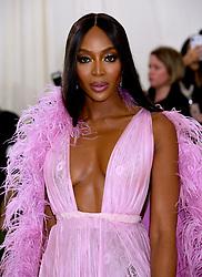 Naomi Campbell attending the Metropolitan Museum of Art Costume Institute Benefit Gala 2019 in New York, USA.