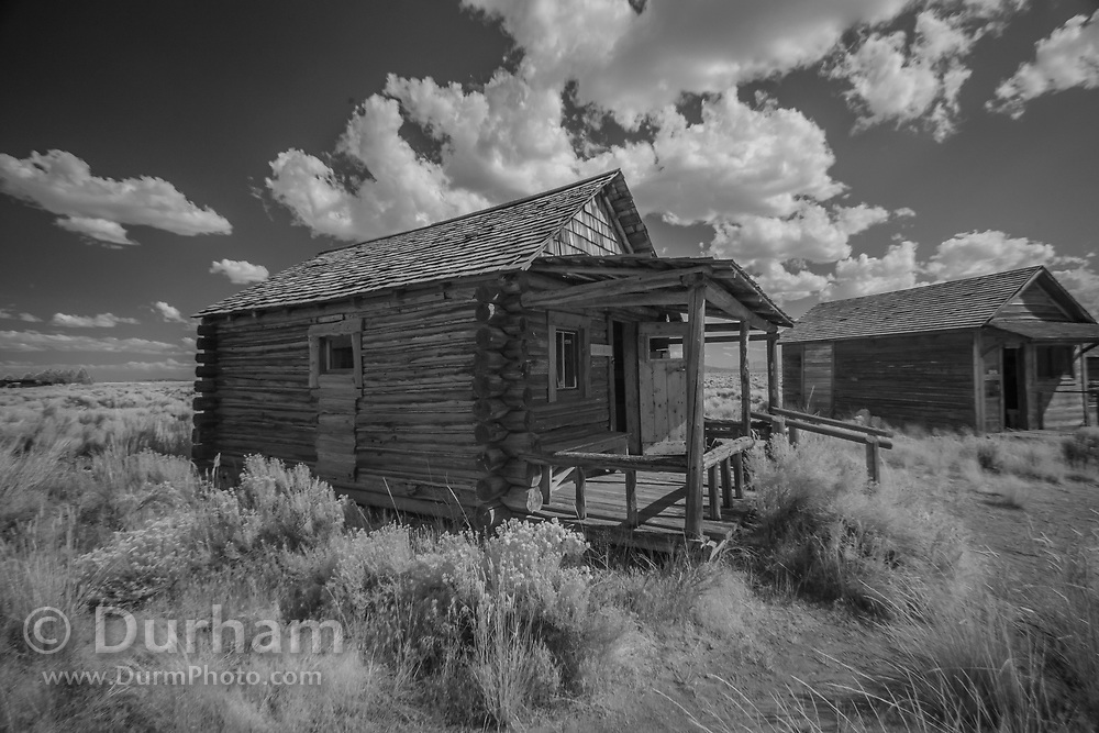 In 1988 the Fort Rock Valley Historical Society opened the Fort Rock Homestead Village Museum which preserves and protects homestead-era structures. The buildings were moved from their original locations to the museum site just west of the town of Fort Rock., Oregon. © Michael Durham