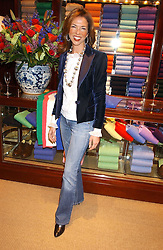 HEATHER KERZNER at a party at Ralph Lauren, Bond Street, London in support of the NSPCC's Full Stop campaign on 21st March 2006.<br /><br />NON EXCLUSIVE - WORLD RIGHTS
