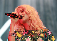Pixie Lott performs at the Girlguiding Big Gig 2017,SSE Arena Wembley, London UK, 07 October 2017, Photo by Tejas Sandhu