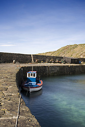 July 21, 2019 - Tugboat Moored To Stone Dock, Scotland (Credit Image: © John Short/Design Pics via ZUMA Wire)