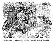 Conflicting Interests; or, John Bull's Motor Problem.