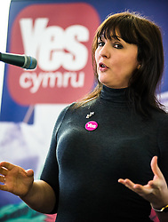 20-02-16. Cardiff, Wales,  UK. Launch Rally of YesCymru :a new cross-party grass-roots movement advocating an Independent Wales. The meeting had 100 activists from allover the Principality and a variety of differing party political views. Speaking were  Shona McAlpine from the Scottish Yes campaign.  More Info: Iestyn ap Rhobert: ietynap@hotmail.com post@yescymru.org 07817024319  http://yes.cymru  @yescymru  Picture credit: Ian Homer/LNP