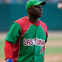 15 February 2009: Joan Carlos Pedroso of the Orientales is seen during a training game of Cuba Baseball Team for the World Baseball Classic 2009. The national team is pitted against itself, divided in two teams called the Occidentales and the Orientales. The Orientales win 12-8, at the Latinoamericano stadium, in la Habana, Cuba.