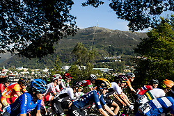 September 23, 2017 - Bergen, NORWAY - 170923 The peloton competes during the Women Elite Road Race on September 23, 2017 in Bergen..Photo: Vegard Wivestad GrÂ¿tt / BILDBYRN / kod VG / 170026 (Credit Image: © Vegard Wivestad Gr¯Tt/Bildbyran via ZUMA Wire)