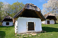 Old Wine cellars at Cak, near Velem, Hungary