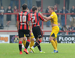 Lee Mansell - Mandatory byline: Neil Brookman/JMP - 07966 386802 - 03/10/2015 - FOOTBALL - Globe Arena - Morecambe, England - Morecambe FC v Bristol Rovers - Sky Bet League Two