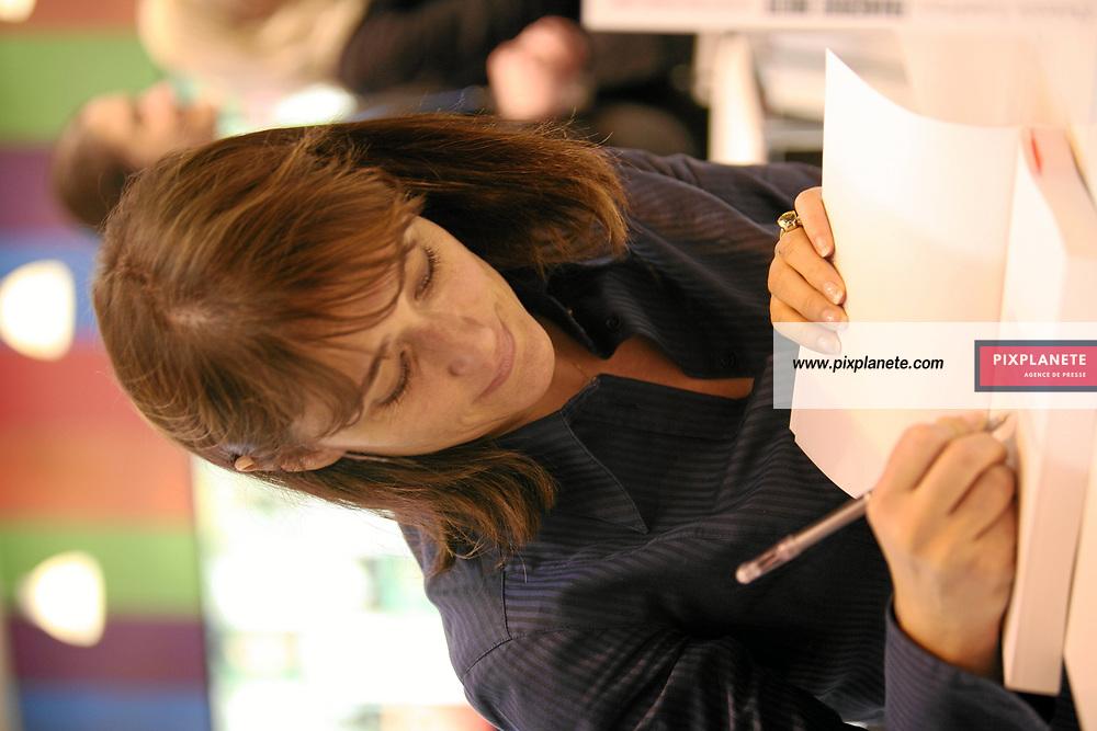 Daniela Lumbroso - Salon du livre 2007 à Paris - Le 23/03/2007 - JSB / PixPlanete