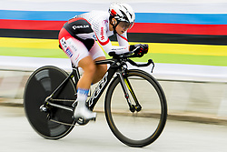 September 19, 2017 - Bergen, Norway - Yumi Kajihara of Japan competes during the Women Elite Individual Time Trial on September 19, 2017 in Bergen. (Credit Image: © Vegard Wivestad Gr¯Tt/Bildbyran via ZUMA Wire)