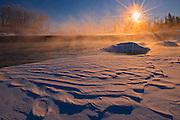 Sunrise at Rainbow Falls<br /> Whiteshell Provincial Park<br /> Manitoba<br /> Canada
